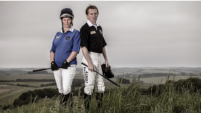 Zara Phillips & Tony McCoy Go Head-To-Head On Saturday (photo courtesy of Barbury Castle Horse Trials)
