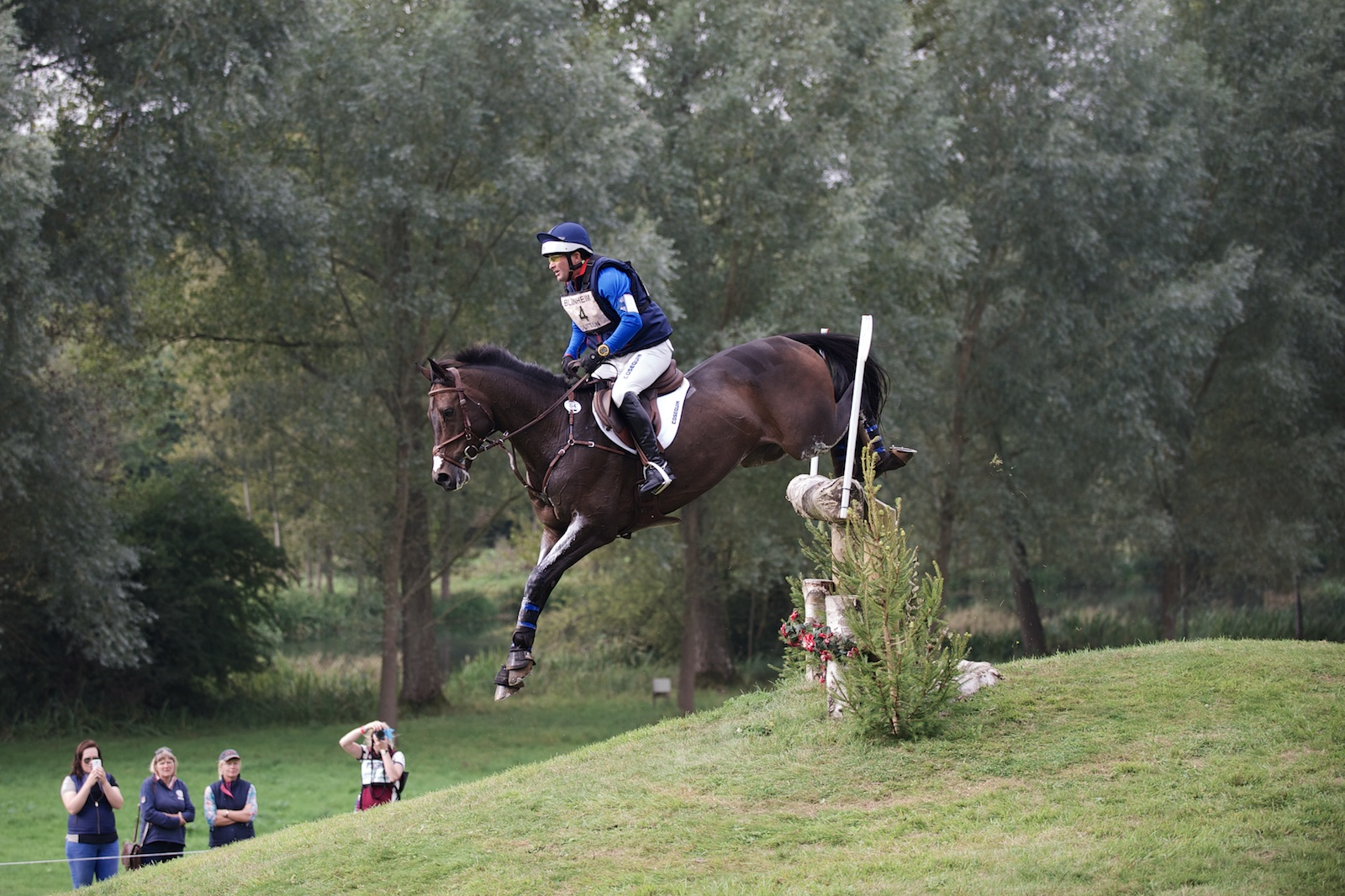 Phillip Dutton & Fernhill Cubalawn Jumped Their Way From 20th To 9th On Cross Country.