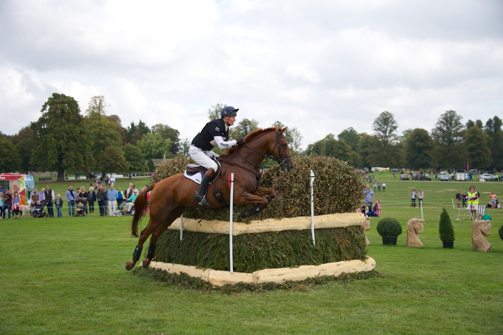 William Fox-Pitt & Freddy Mac (Leaders After Cross Country)